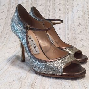 Jimmy Choo Sequined Mary Janes